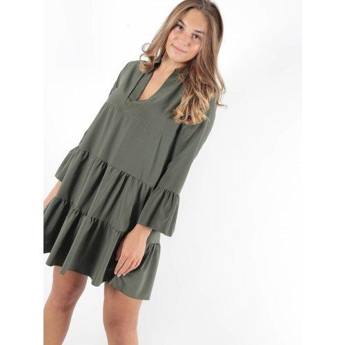 New Collection Green sanur dress