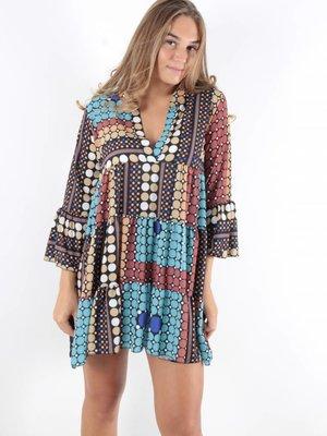 F.Fashion Sanur dress dots