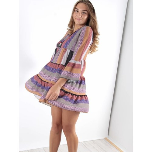 F.Fashion Sanur dress print