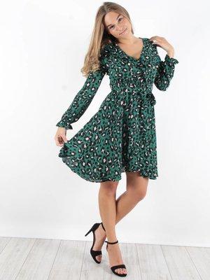 Vintage Dressing Leopard dress