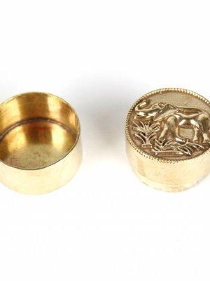 À la Leopard Ring-/Teeth Box Small