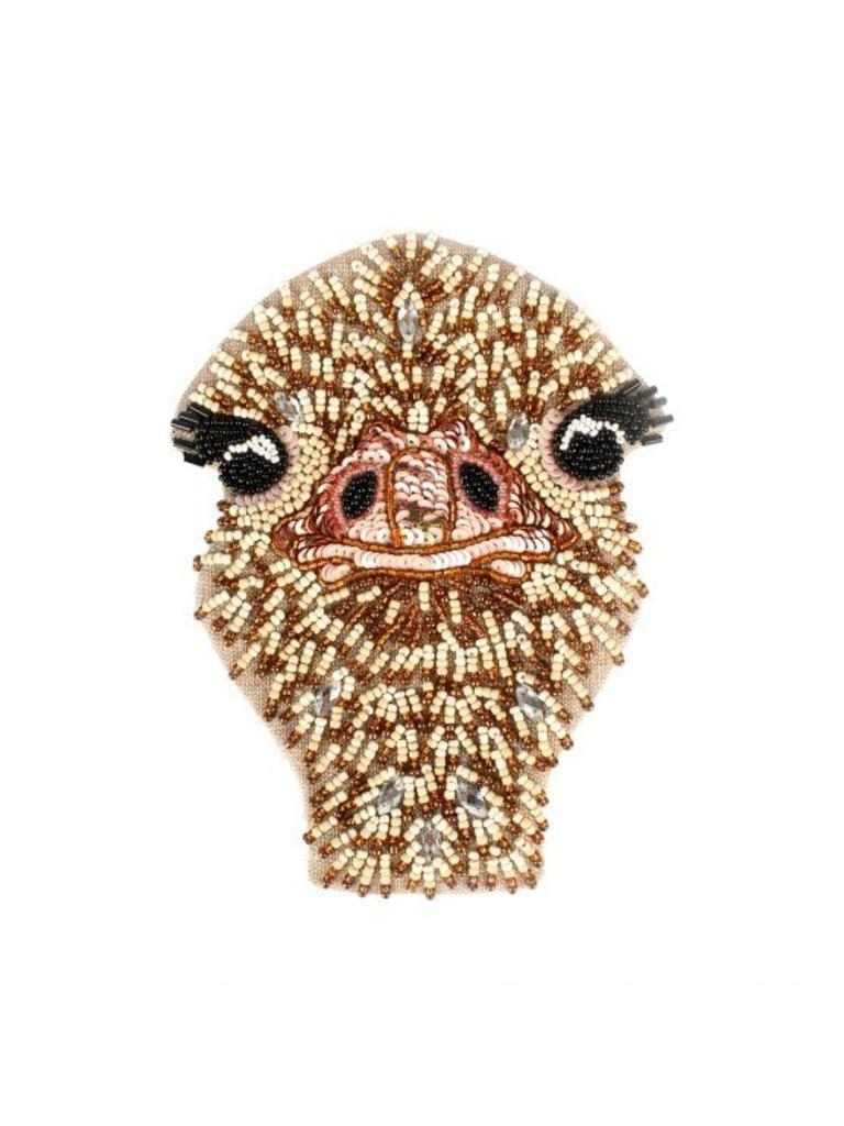 Coin wallet ostrich