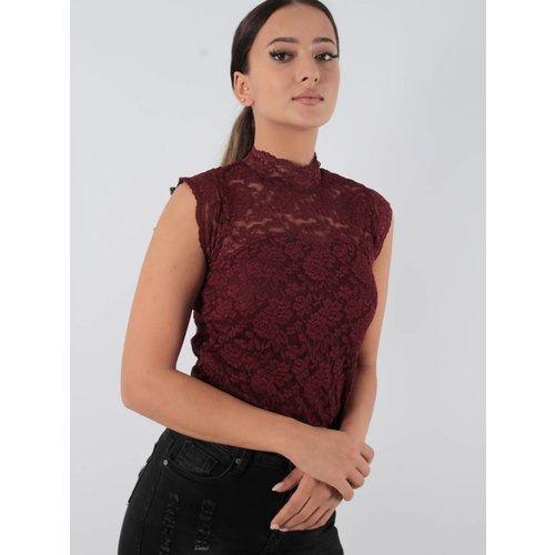 Capsule Bloom lace shirt