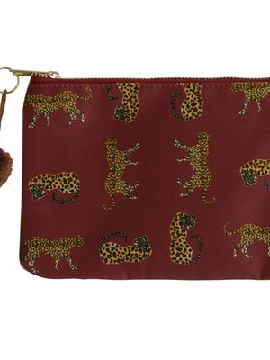 Yehwang Make-up bag wild leopard