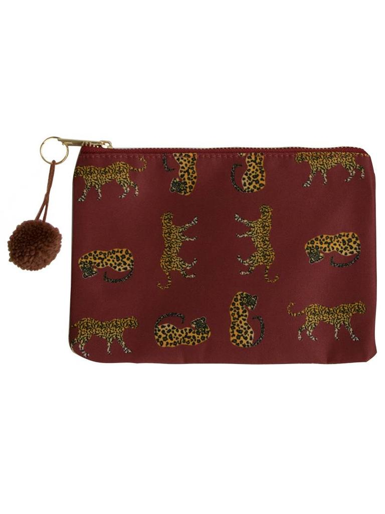 Yehwang Make-up bag wild leopard