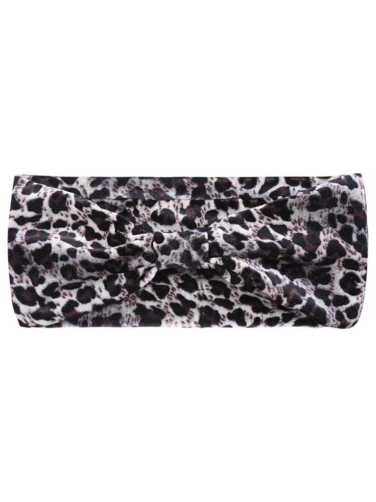 Yehwang Headband dusty leopard
