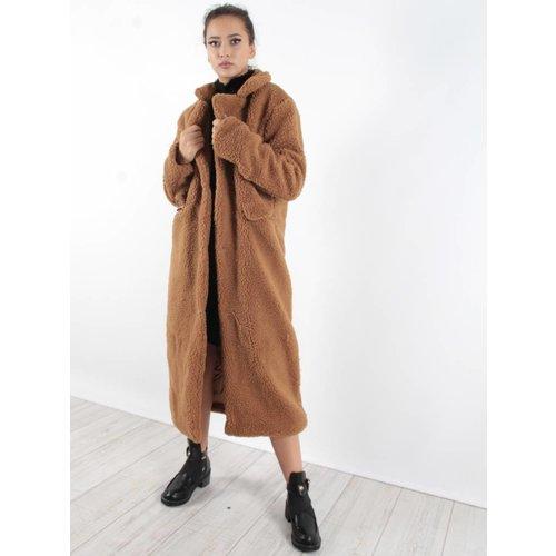Realty Teddy love long coat