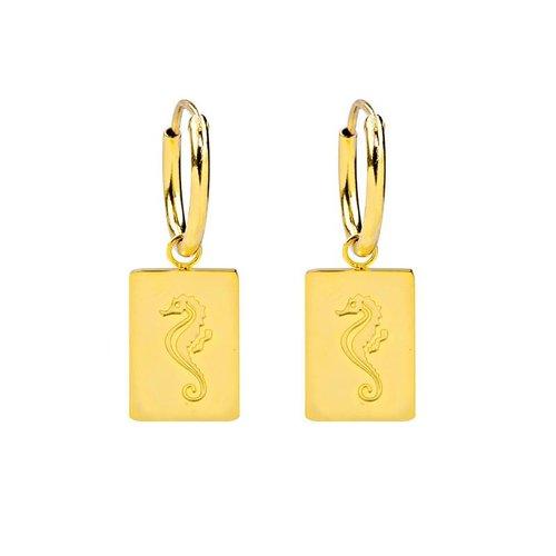 Yehwang Earrings vitamin sea