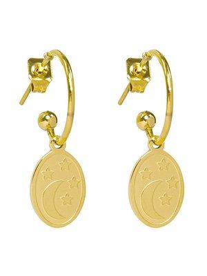 Yehwang Earrings dream night gold