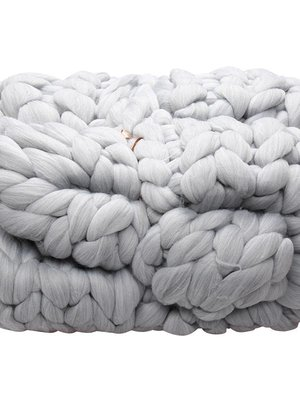 Yehwang Chunky knit blanket