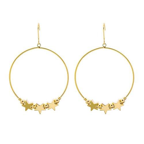 Yehwang Earrings happy stars