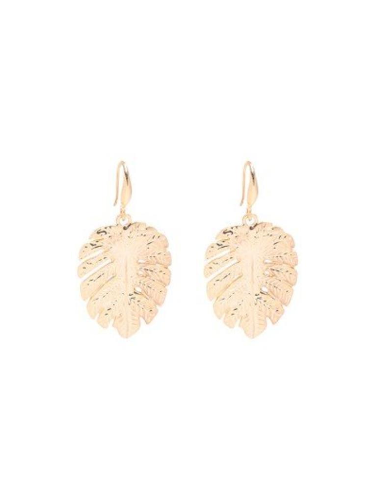 Yehwang Earrings Lovely Leaf