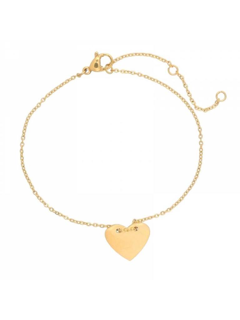 Yehwang Bracelet heart gold