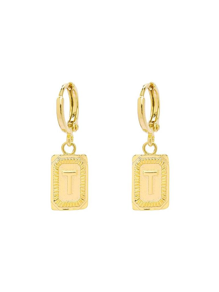 Yehwang Earrings Initial T