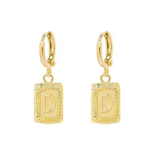 Yehwang Earrings Initial D