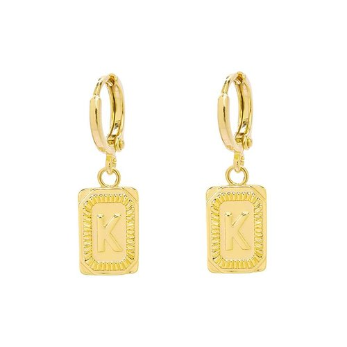 Yehwang Earrings Initial K