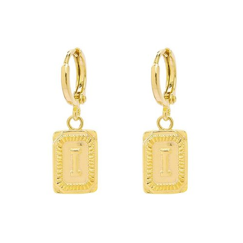Yehwang Earrings Initial I