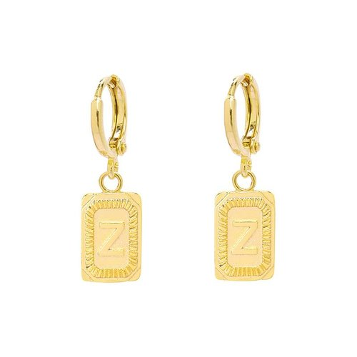 Yehwang Earrings Initial Z