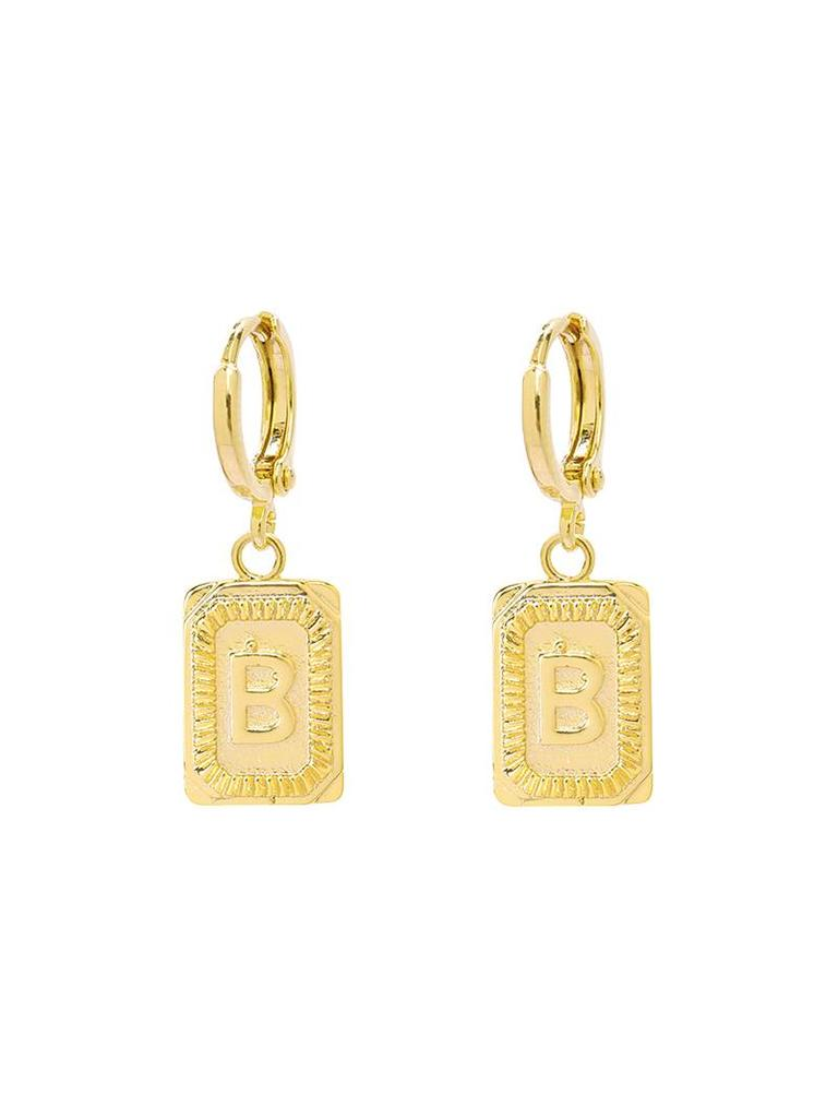 Yehwang Earrings Initial B