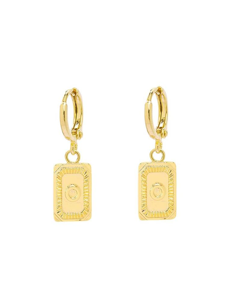 Yehwang Earrings Initial O