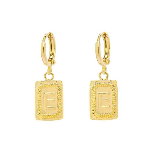 Yehwang Earrings Initial E