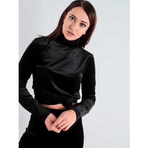 Ladylike Kay velvet shirt