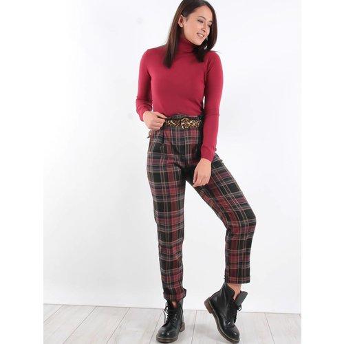 Miss Miss Tartan pants