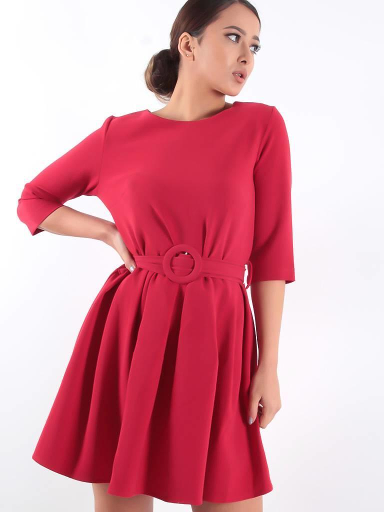 Miss Miss Abito dress red