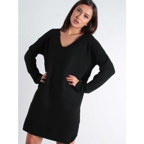 Moocci V-sweater dress