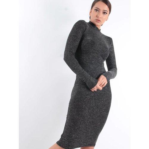 Cherry Koko Basic glitter dress
