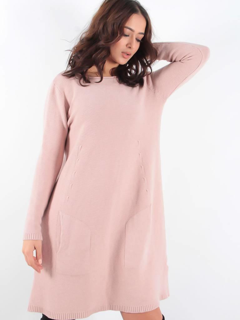 Ladylike Dolce long dress pink