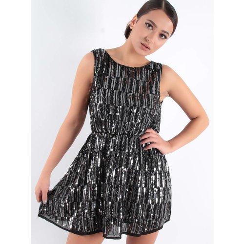 Luc & Ce Gigi paillet dress