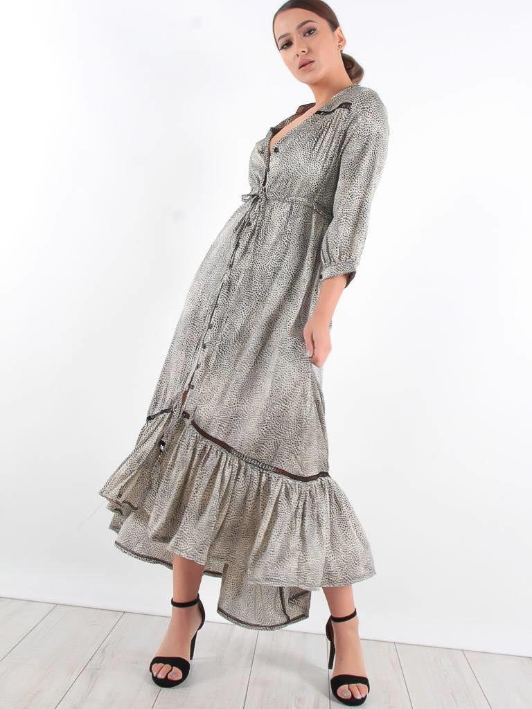 Ambika Satin leo dress