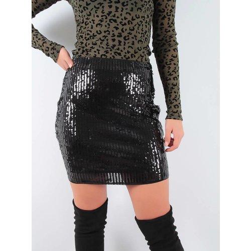Drôle de Copine Mini skirt sequins