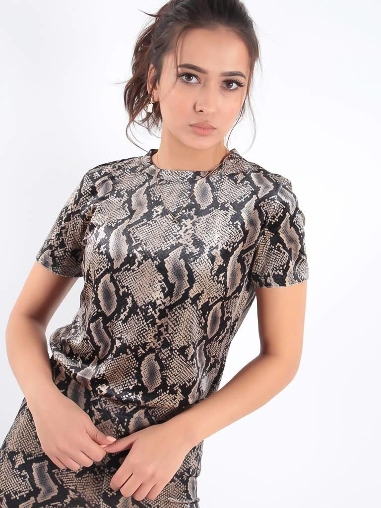 Ambika Joy snake shirt