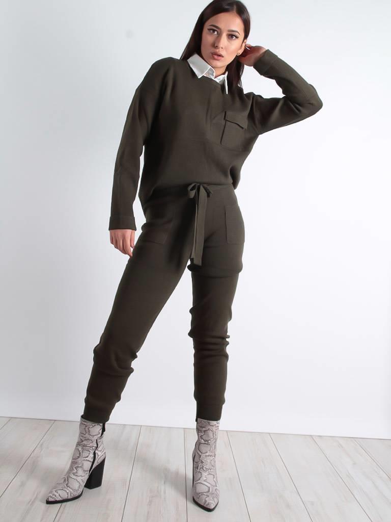Vintage Dressing Mim pants khaki