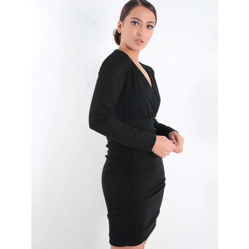Ladylike Black glitter dress