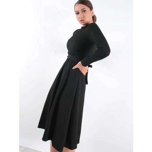 JCL Black glitter dress