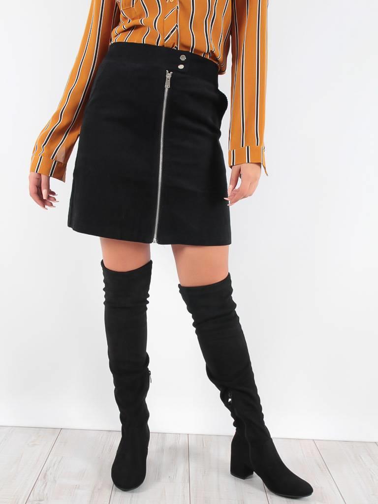 Eight Ribby skirt