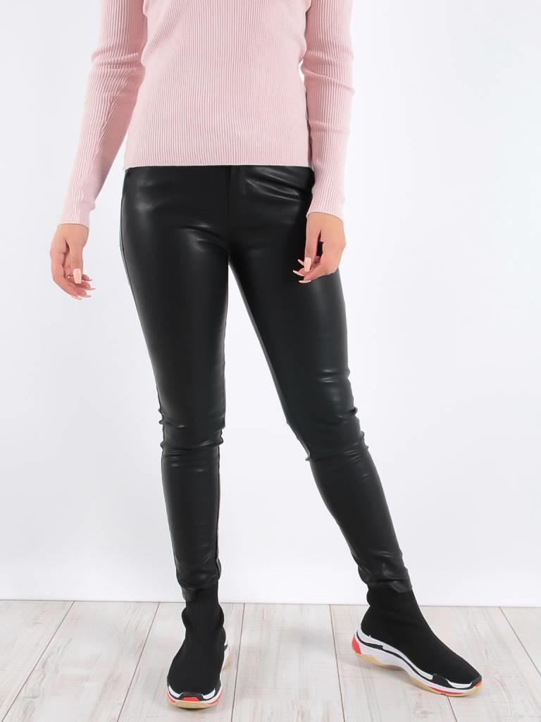 Drôle de Copine Leather luxe pants