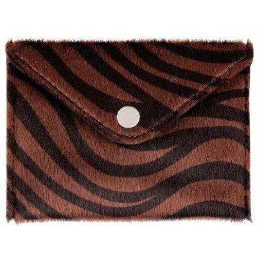 Ladylike Pouch Zebra Life brown