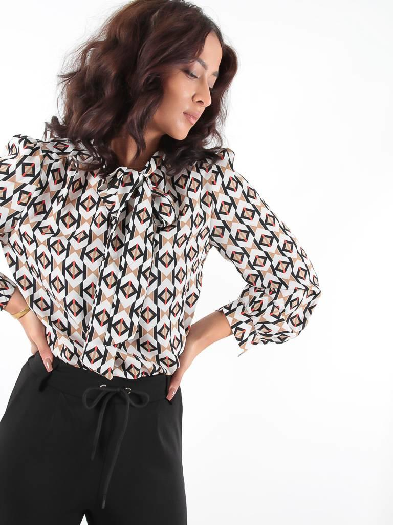 Akoz Check blouse