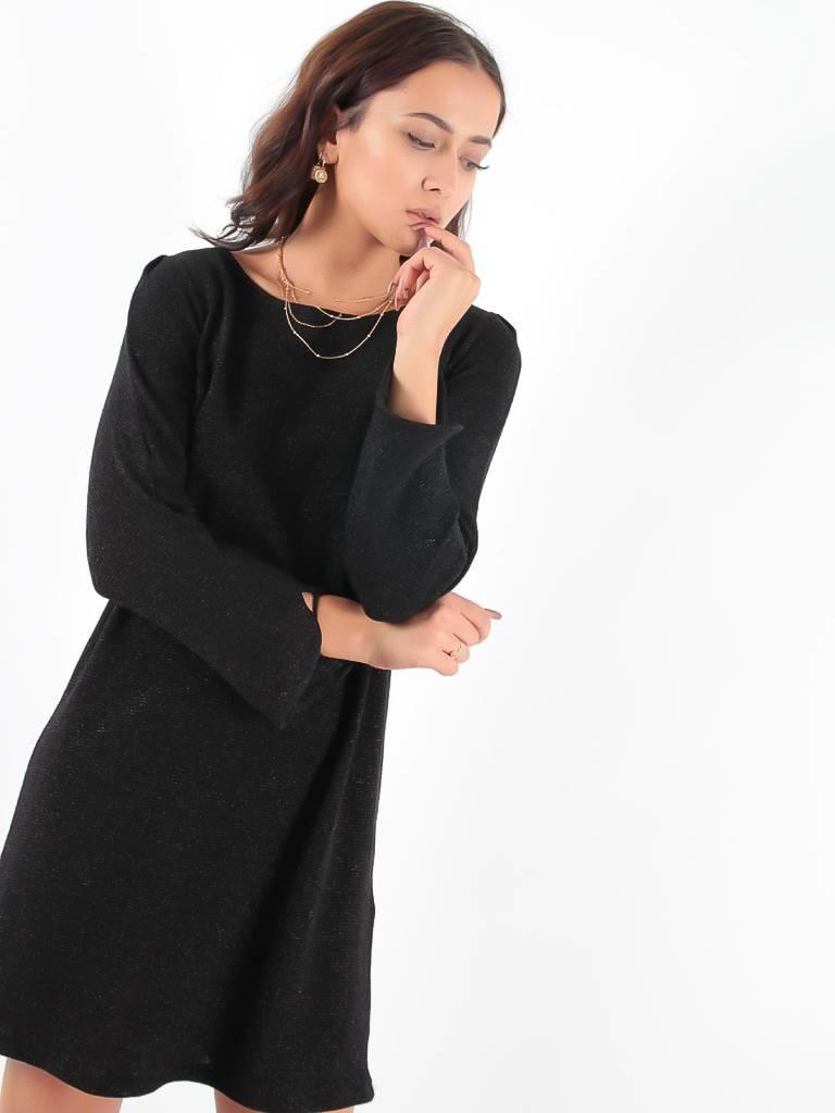 Janis & John Mari dress black