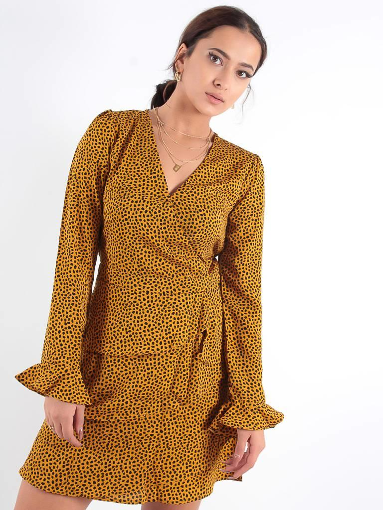 Ivivi Mustard love dress