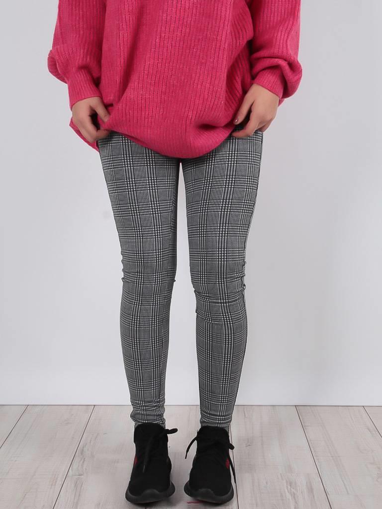 Ladylike Pied de poule trousers