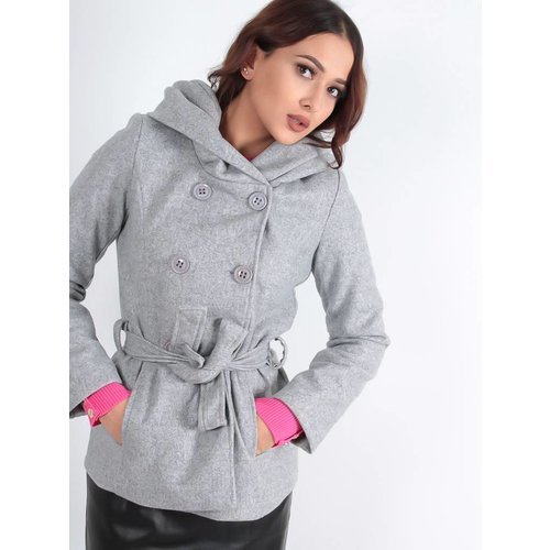 Ladylike Jacket with hoodie