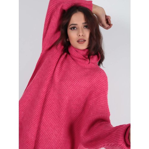 Ladylike Fuchsia knit jumper