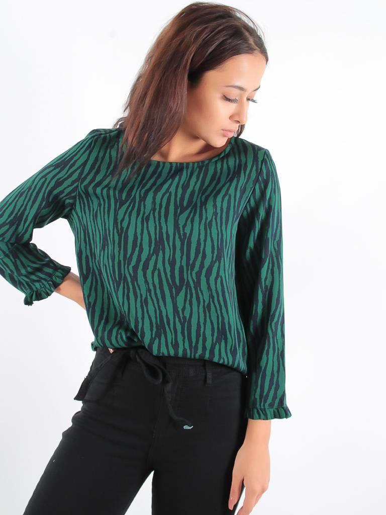Akoz Wild blouse green