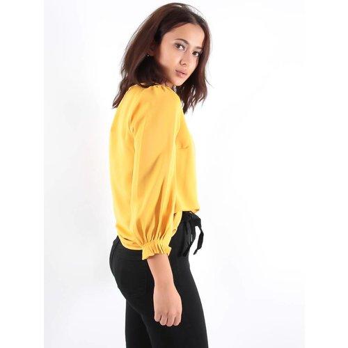 Akoz Deezy blouse yellow