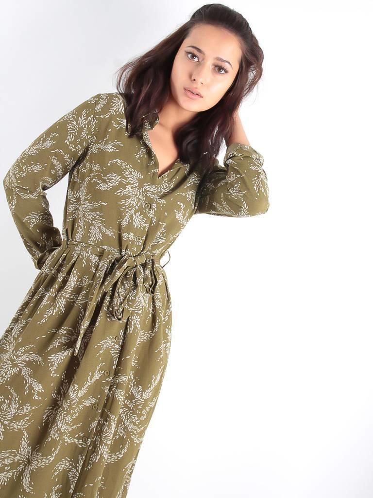 Ambika Topsy dress green